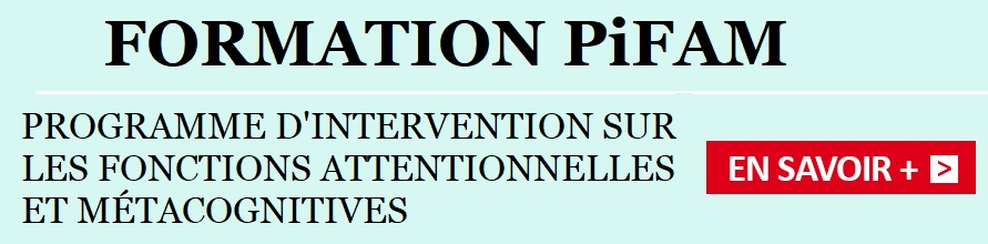 PiFAM: Programme d'Intervention sur les Fonctions Attentionnelles et Métacognitives 1