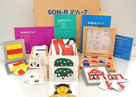 SON-R 2½ – 7: TEST NON VERBAL D'INTELLIGENCE
