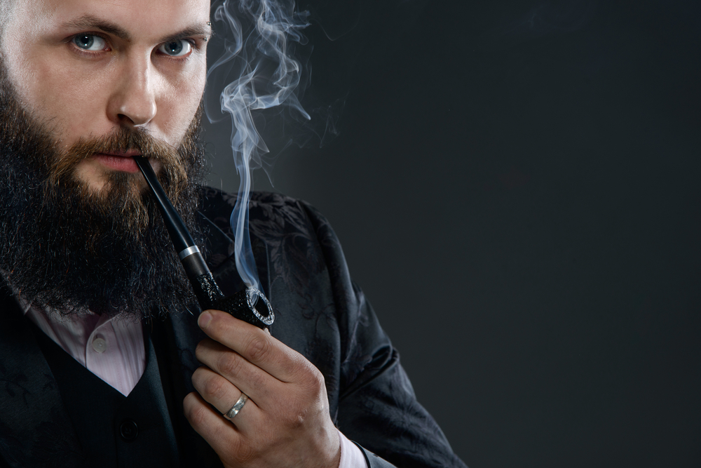 fumeur barbe