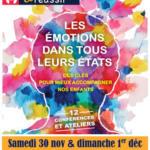 [Forum] Explorer les émotions sous différentes facettes, à Vaison la Romaine les 30 Novembre & 1<sup>er</sup> Décembre 14